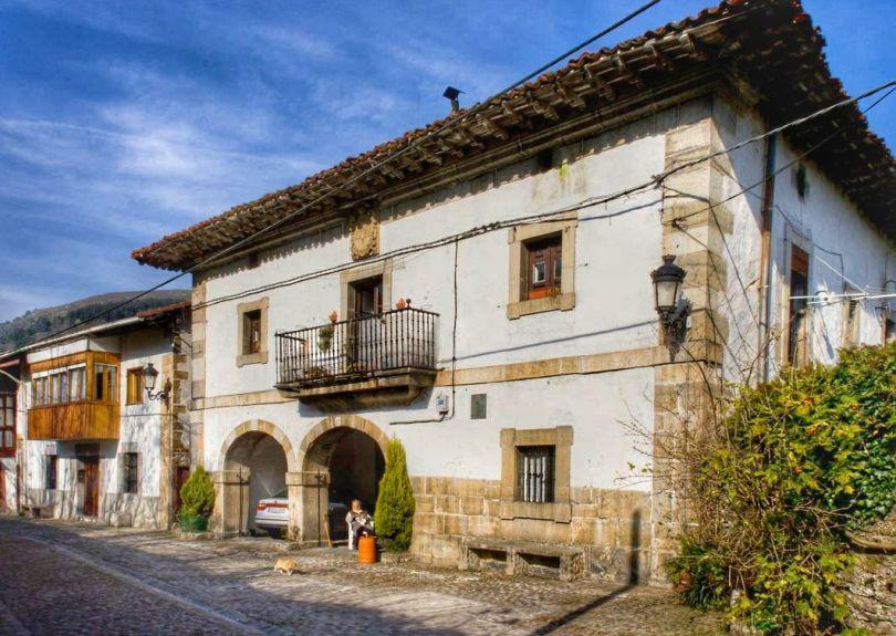 Casa solariega en Lanestosa